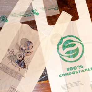 Bolsa biodegradable-compostable